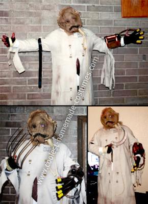 Homemade Dr Jonathan Crane AKA The Scarecrow Costume