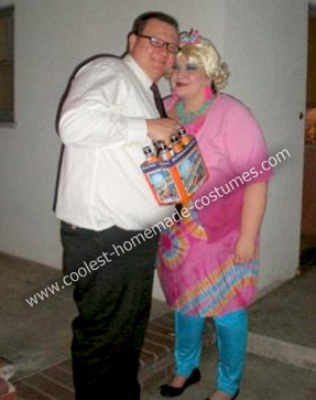 Homemade Drew Carey and Mimi Bobeck Couple Costume