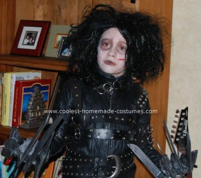 Homemade Edward Scissorhands Costume