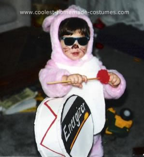 Energizer Bunny Toddler Costume