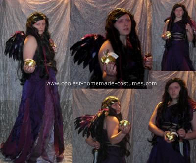 Homemade Eris Greek Goddess Costume
