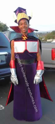 Homemade Evil Zurg Costume