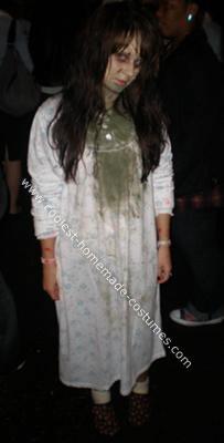 Homemade Exorcist Costume