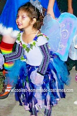 Homemade Fairy Girl Costume
