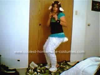 Homemade Faun Costume