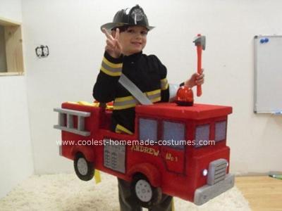 Halloween Fire Truck Truck Halloween Costume