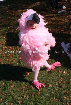 Homemade Flamingo Costume