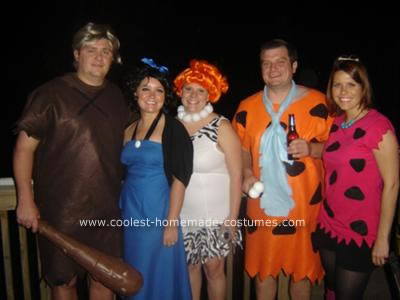 Homemade Flintstone's Costumes