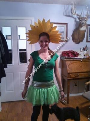 Homemade Flower Costume