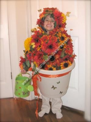 Homemade Flower Pot Costume