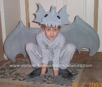 Homemade Gargoyle Costume