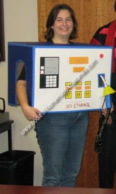 Homemade Gas Pump Costume