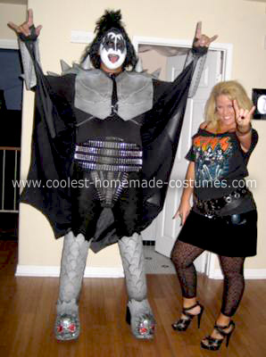 Homemade Gene SImmons God of Thunder Halloween Costume