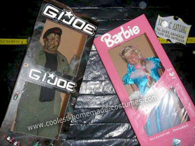 Homemade G.I. Joe and Barbie Costumes