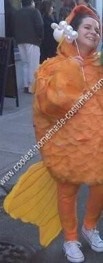 Homemade Goldfish Halloween Costume Idea