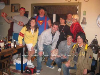 Homemade Goonies Group Costume