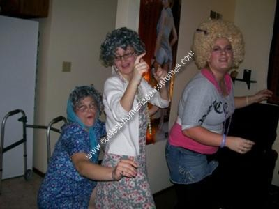 Homemade Grandma Costume