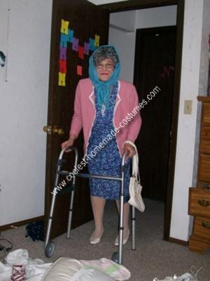 Homemade Grandma Costume