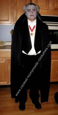 Homemade Grandpa Munster Costume