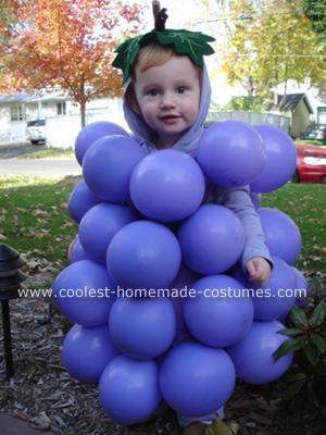 Homemade Grapes Costume