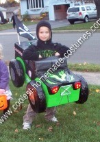 Homemade Grave Digger Monster Truck Halloween Costume