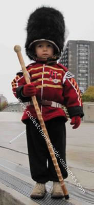 Homemade Grenadier Drum Major Costume