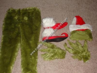 Homemade Grinch Halloween Costume Idea