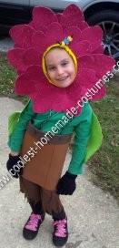 Homemade Growing Daisy Child Halloween Costume