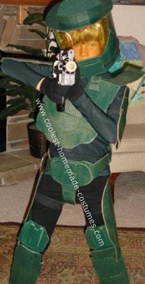 Homemade Halo Halloween Costume