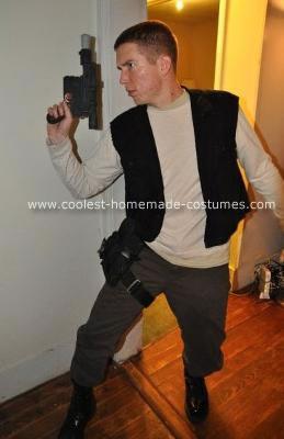 Homemade Han Solo Costume