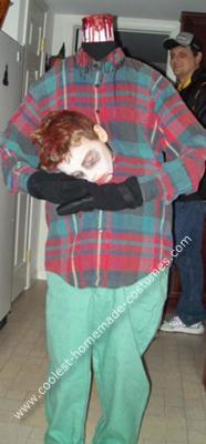 Homemade Headless Costume
