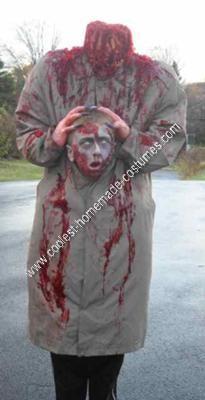 Homemade Headless Halloween Costume