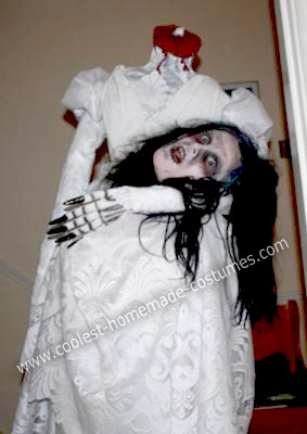 headless bride