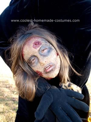 Homemade Headless Zombie Halloween Costume Idea