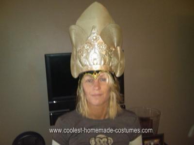 Homemade Hindu Goddess Kali Costume