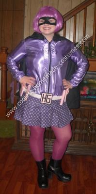Homemade Hit Girl Costume