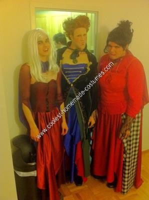 Homemade Hocus Pocus Unique Group Halloween Costume Idea