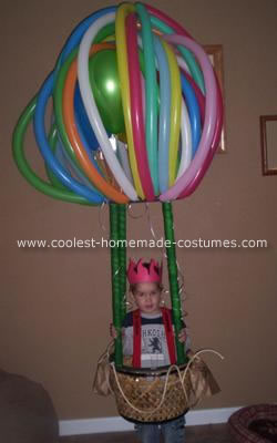 Homemade Hot Air Balloon Costume