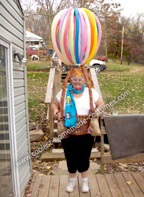 Homemade Hot Air Balloon Halloween Costume