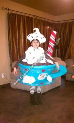 Homemade Hot Cocoa Halloween Costume