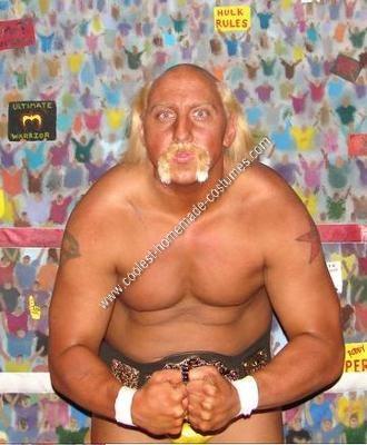 Homemade Hulk Hogan Halloween Costume