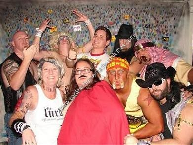 Homemade Hulk Hogan Halloween Costume