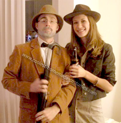 Homemade Indiana Jones Couple Costume