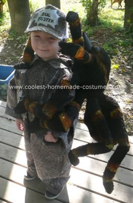 Homemade Insect Catcher Costume