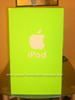 Homemade iPod Kids Costume Idea