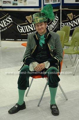Homemade Irish Leprechaun Costume