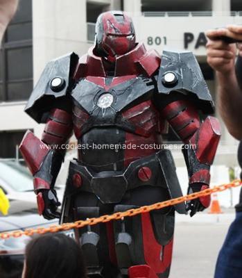 Homemade Iron Man Heavy Artillery Costume