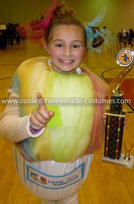 Homemade Italian Ice Costume