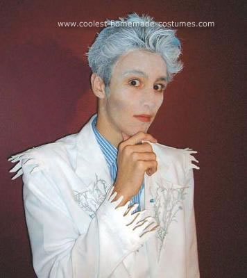 Homemade Jack Frost and Ice Princess Unique Couple Costume Ideas