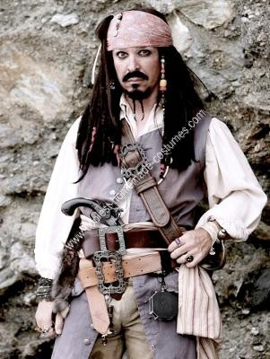 jack sparrow costume. Homemade Jack Sparrow Costume